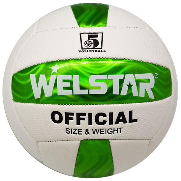 New design Machine stitched Shining colorful wholesale volleyball