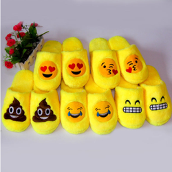 cute  spring winter Cotton slippers Indoor slippers  Plus Si