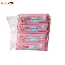 Best selling biodegradable pocket size edible grade baby wipes