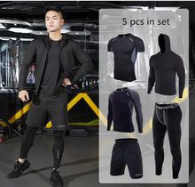 WHOLESALE GYM WEAR quick dry training wear set breathable running clothing sport wears for men sportswear