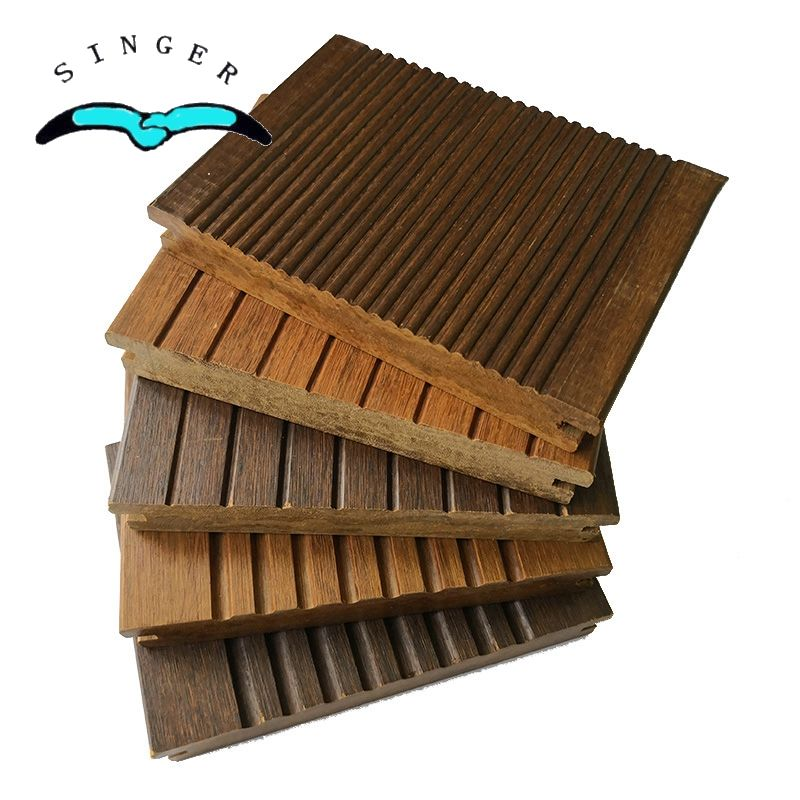 Eco-friendly Strand Woven 18mm carbonized bamboo decking flooring outdoor deck tiles australia
