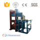 Waste tire recycling rubber pavement tile making machine