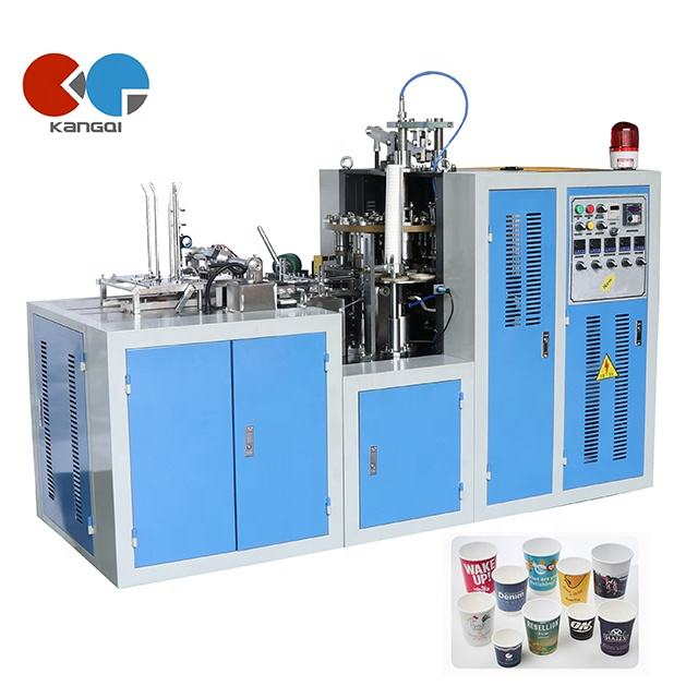 China Hot Cold Drink Coffee Paper Cup Making Forming Machine