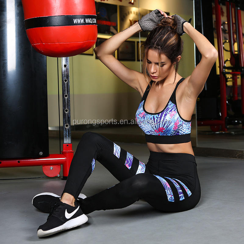 Workout Sportswear Gym Yoga Suit Fitness Apparel