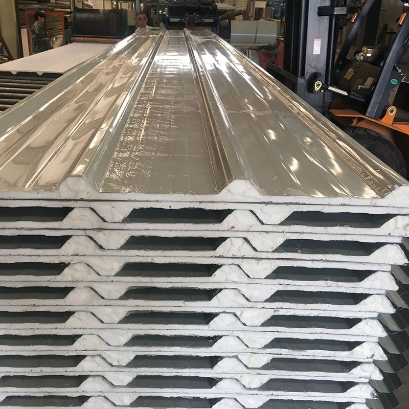 20mm decorative exterior wall panels 20mm cement to cover polystyrene 20mm pu sandwich panel manufactures in uae