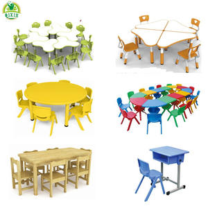 2020 Hot Factory wholesale plastic kids table and chairs kindergarten preschool daycare nursery school children furniture sets