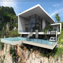Luxury homes small modern house plans prefabricated houses Cambodia