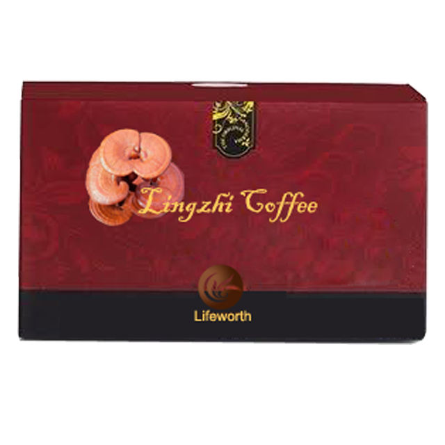 organic private label natural herbs 3 in 1 mushroom lingzhi weight loss instant coffee manufacturer