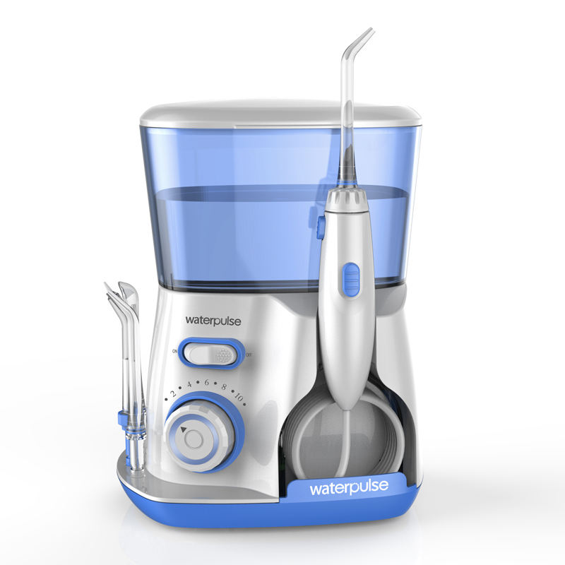 Waterpulse V300 water flosser electric dental countertop oral irrigator for teeth
