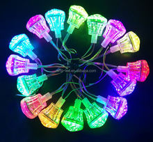 24V Addressable 60mm Smart Pixel LED Lamp Programmable Ferris Wheel Fun Amusement Lighting