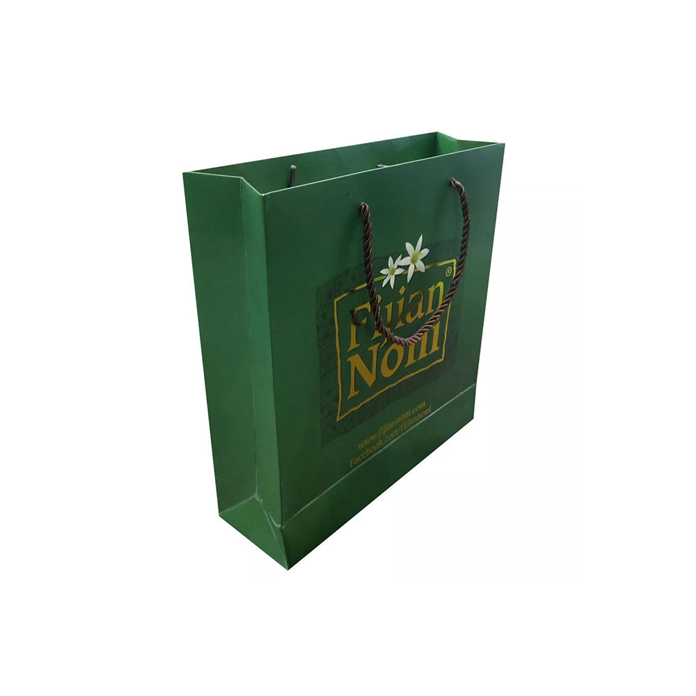 OEM Pantone Color Printing Big Flat Kraft Paper Bag For Promotion