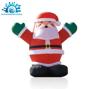 Blue Springs Inflatable Christmas Decoration, Inflatable Santa Claus