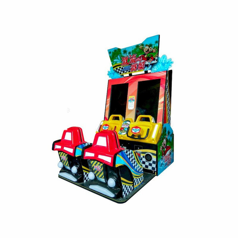 Hotselling Wild Water Racing Kayak Indoor Sport Coin Operated Kids Car Racing Arcade Game Machine For Sale