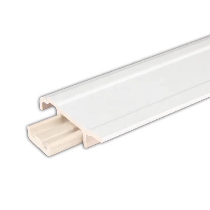 Becter Indoor Use White Skirting Board Corner Protector