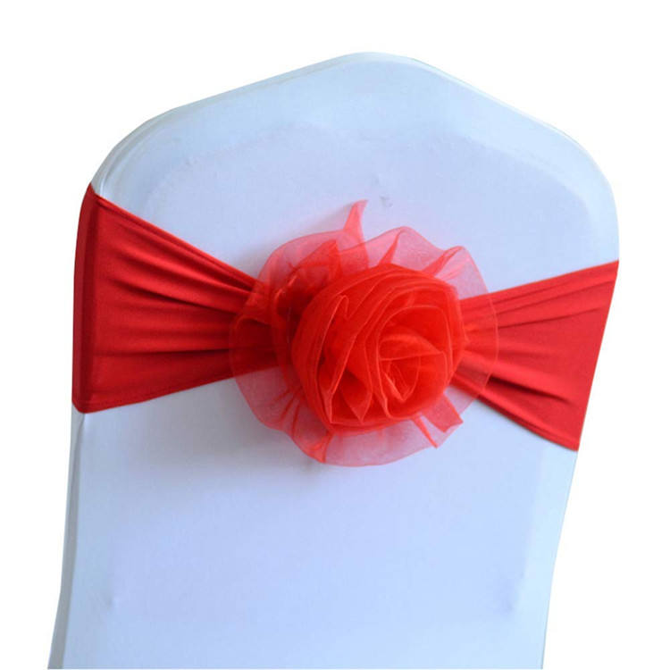 Wedding Chair Sashes for Wedding Events Party Hotel Banquet Chair Decoration Wedding Chair Sash