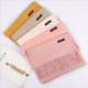 Hot selling many colors available wholesale solid color women pashmina scarf head shawl scarf hijab