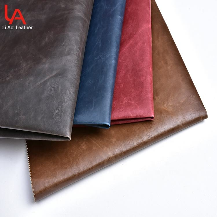 New Fashion Recycled Waterproof Faux Polyurethane Fabric Synthetic Vegan Pvc Pu Leather For Box Bag