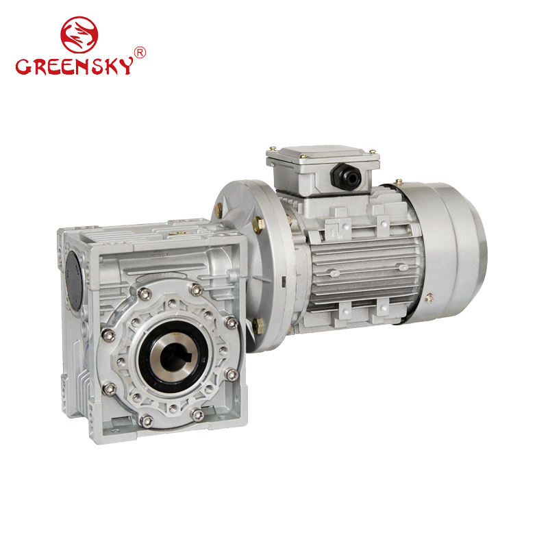 High Torque Speed Reducer NMRV Gearbox IEC Electric gearmotor AC Worm Gear Motor