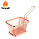 China factory wholesale mini chip pan potato frying strainer baskets