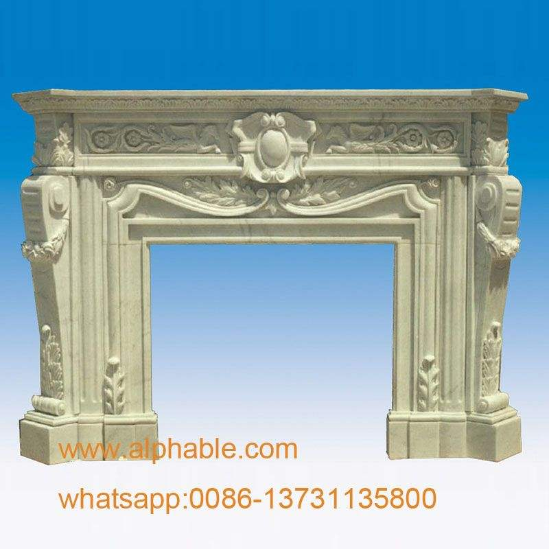 China Manufacturer Cylinder Fireplace Quartz Surrounding