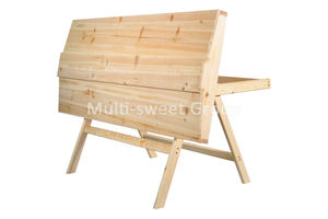 Wooden top bar beehive