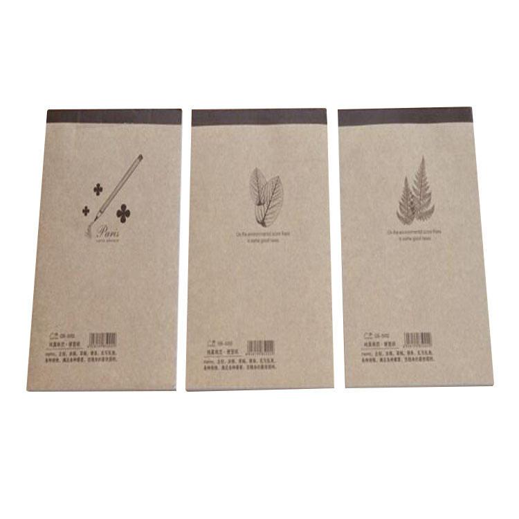 Usine en gros kraft papier 14.3x10.5 cm étudiant écrit portable exercice note book77 (3)