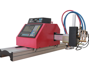 Portable CNC plasma cutting machine with CAD CAM software
