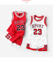 Promotion Children Sets Active Fashion Design Printing Letters Boys Sport Sets For 2-7 Years Kids Summer Wear