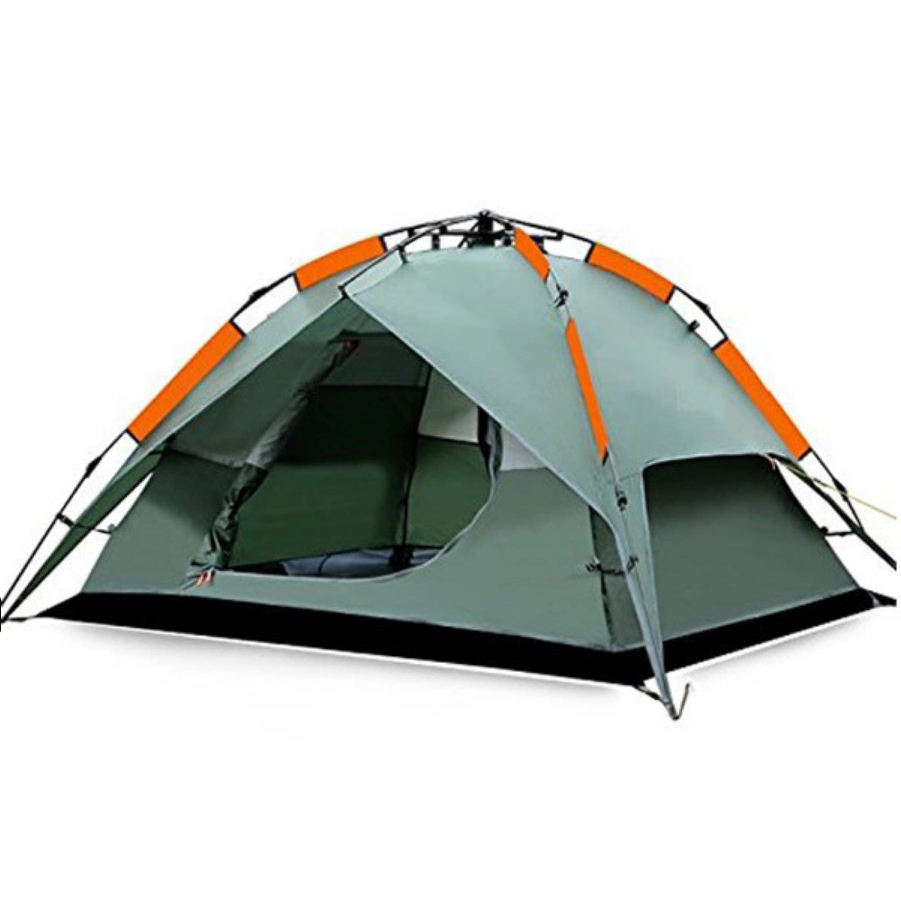 3 - 4 Person Double Wind Resistant Layer Automatic Camping Tent