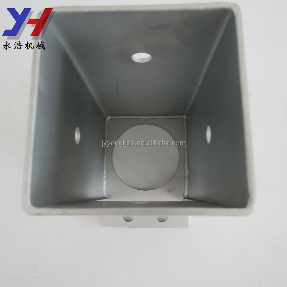 OEM ODM Custom Fabrication of Anti Rust Stainless Steel Gate Post Fixed Base