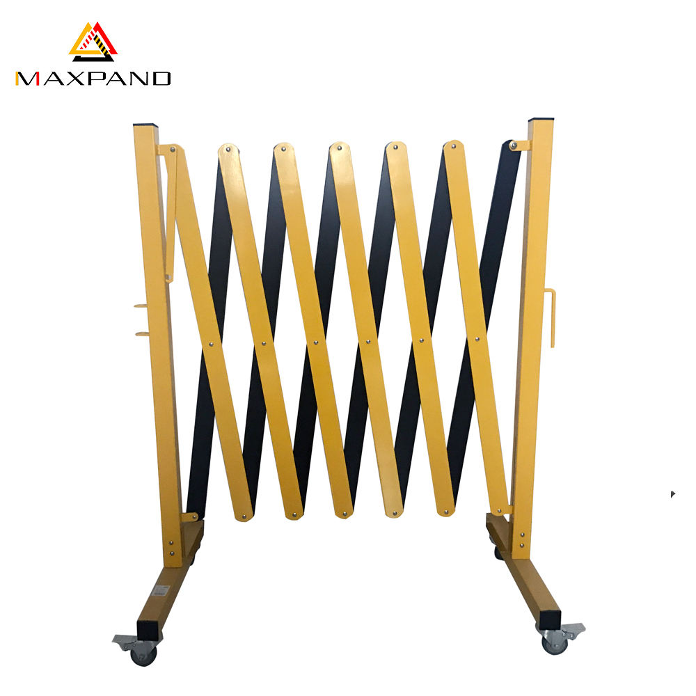 Temporary Retractable Folding Crowd Control Barricade Traffic Expandable Barrier