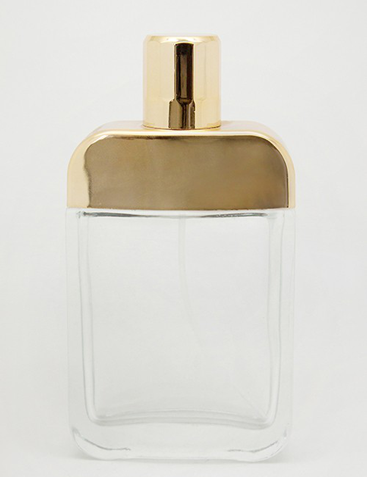 Directly Factory Supplier good design square perfume bottle 50ml
