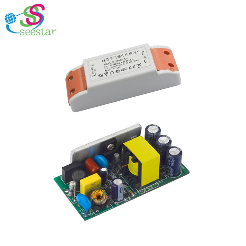 70W 700mA 3KV 72V Non Isolated LED Driver with Plastic Case ExternalConstant Current Panel Light Driver