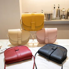 9F130 wholesale 2019 fashion simple women mini bags korean style sling mini shoulder cross body bag