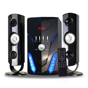 Subwoofer dan Speaker Surround Sound Home Theater 2.1 CH Speaker Karaoke Sistem Home Theater