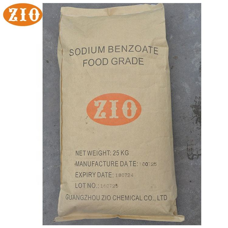 Guangzhou supplier granule sodium benzoate benzoic acid uses for sale