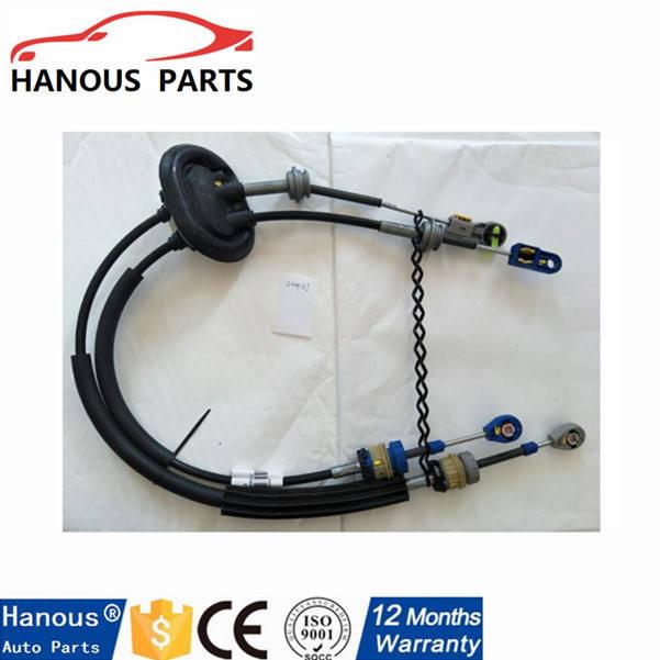 PEUGEOT 207 06 LINKAGE TRANSMISSION CABLE 2444.CX