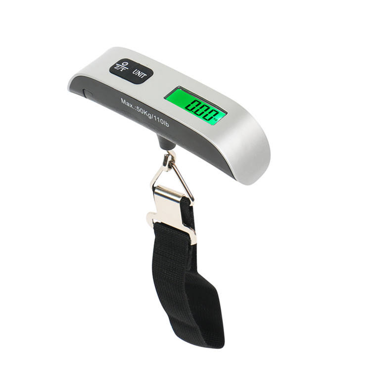 Yuwei 50kg with Temperature Travel Baggage Weighing Hanging Luggage Scale for gift