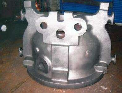 блок цилиндров сталелитейном заводе