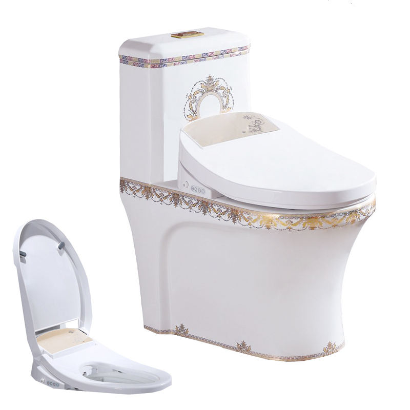 bathroom gold plated toilet home decor wc bidet combined seat baby toilet ac Wc cistern japanese rest club smart wc pan unit