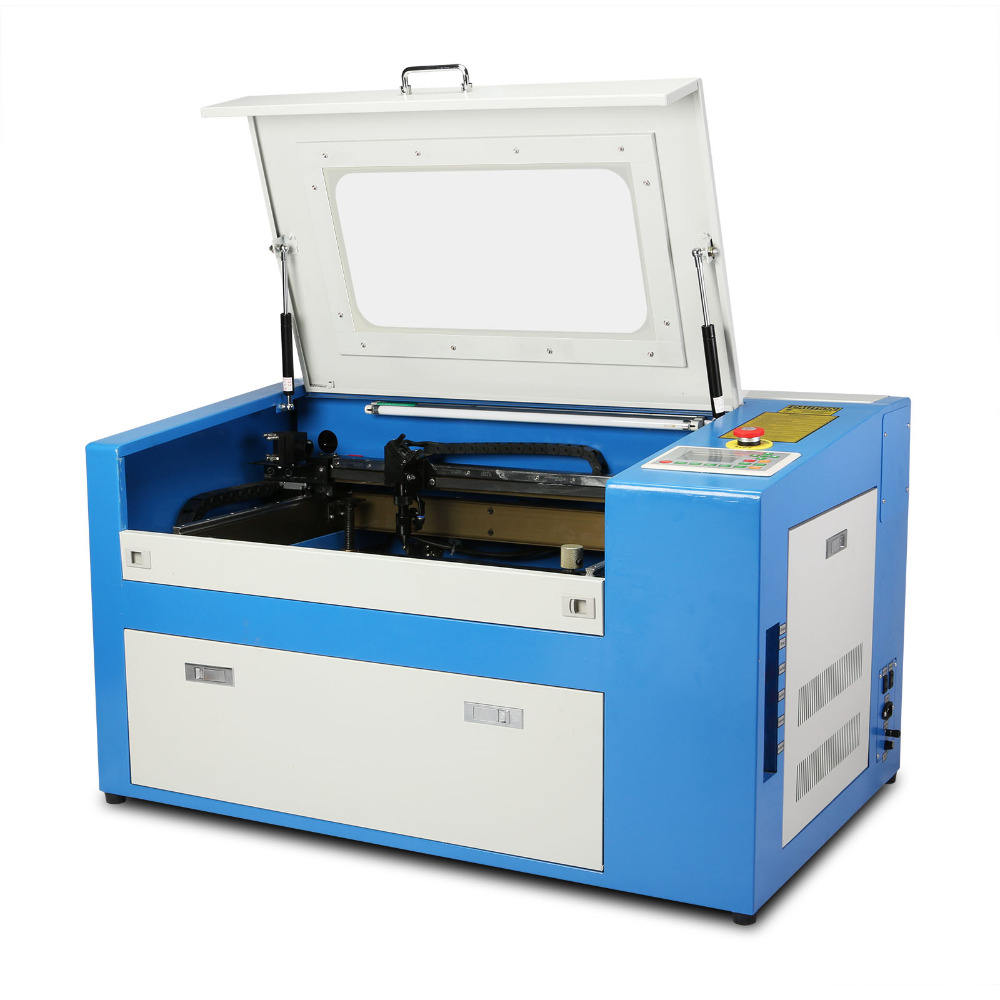 SH-350 300*500mm 50W CO2 Laser Engraving Machine 350 Engraver Cutter With Auxiliary Rotary Device 3d laser engraving machine