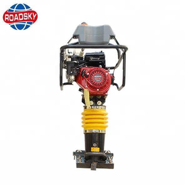 China engine impact vibrating tamping rammer