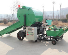 Full automatic mini round hay balers electrical silage baler and wrapper hot sale in Kenya