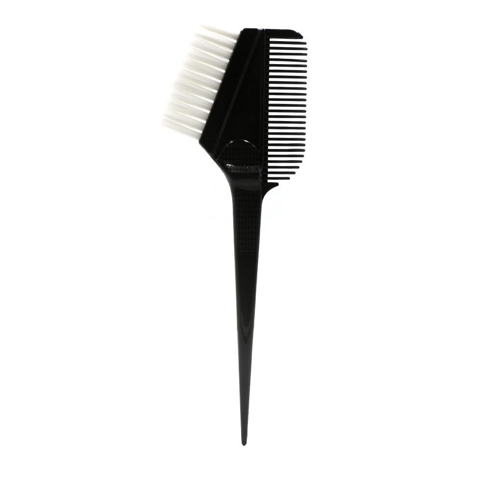 White Hair Double Sided Hair Stylist Professional Coloring Tools Anti Static Brush Hair Dye Comb