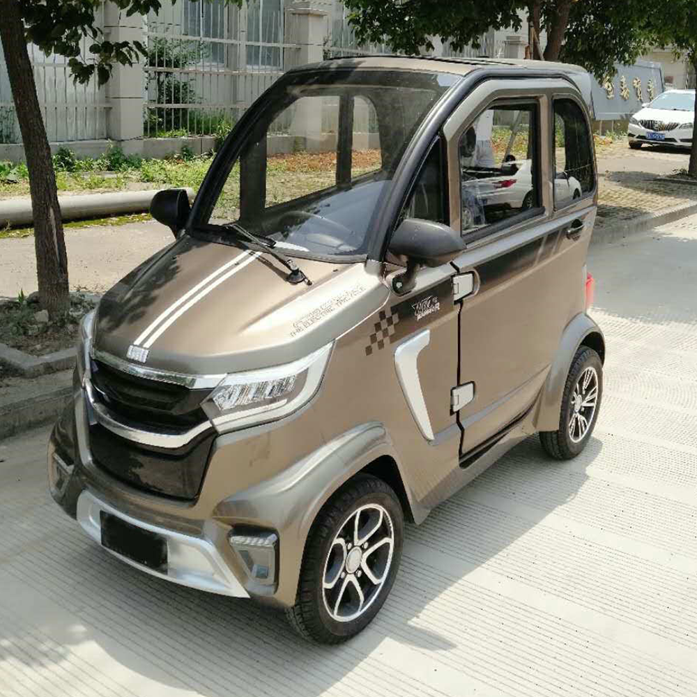 CE Certificate 3 Seaters Newest Popular Chinese Electric car 4 wheel new energy electric vehicle mini electric car
