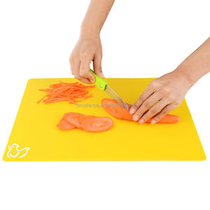 100% Food 급 BPA Free 플라스틱 유연한 마 Cutting Boards Set, Custom Printed Logo Cutting 보드 와 Good Price