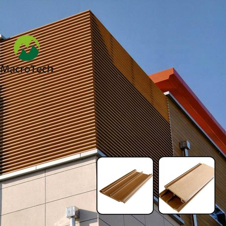 Waterproof Cheap wood plastic composite Manufacturer exterior wall panel