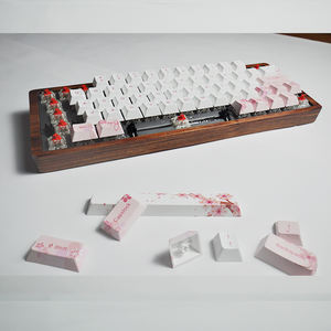 3D Sublimation DIY Blank Mechanical Wireless Bluetooth Keycaps Keyboard