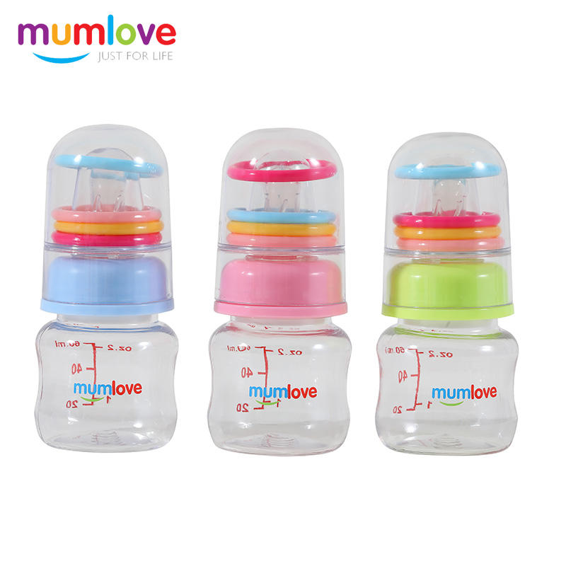 Ring bell PC feeding bottle