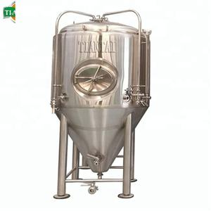 1000L Beer Fermenting Plant / Conical Fermenter For Porter Beer
